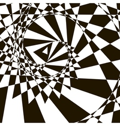 Black-and-white abstract background vector image