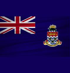 Cayman islands flag flag of cayman islands vector