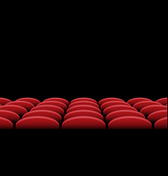 Cinema seats background vector