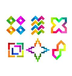 Colorful Logo Icon vector
