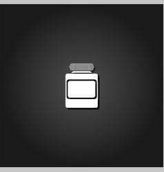 jar icon flat vector image