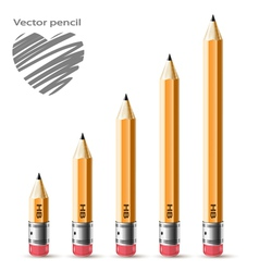 pensil vector image