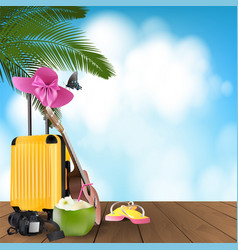 summer day holiday vacation vector image