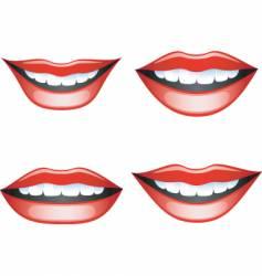 lips vector image vector image