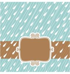 raining background vector image