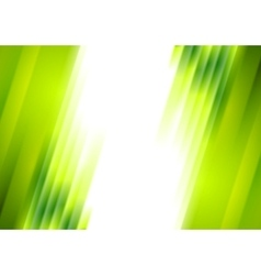 Green blurred stripes bright corporate background vector image vector image