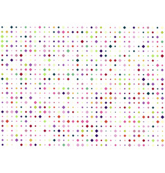 background of many colored rhombuses of vector image