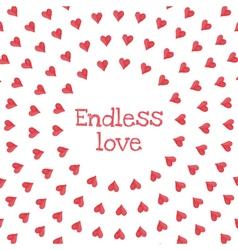 Endless love vector