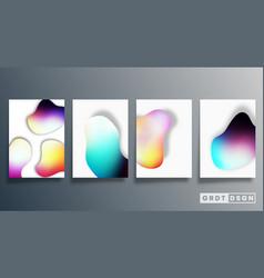 gradient minimal design for background wallpaper vector image