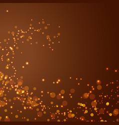 Magical glittering christmas abstract background vector