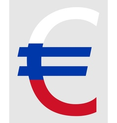 Slovakian Euro vector image