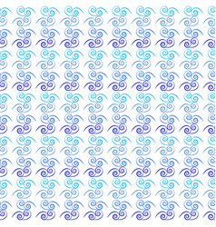 wavy line seamless pattern fashion graphic vector image