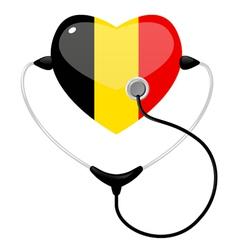 medicine belgium vector image vector image