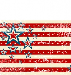 usa flag theme vector image vector image