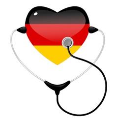 medicine germany vector image vector image
