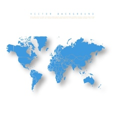 Abstract Earth Map vector