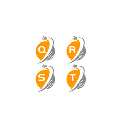digital world and electrical connections set vector image