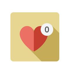 Favorites icon vector