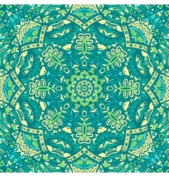 Seamless green carpet design vector