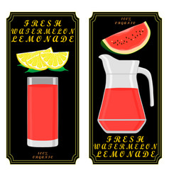 The theme lemonade vector