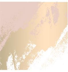 Trendy blush pink gold feminine pastel texture vector