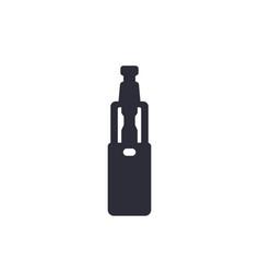 e-cigarette vaporizer icon vector image