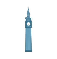 london big ben clock tower london england symbol vector image