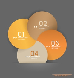 Modern design layout and template vector image