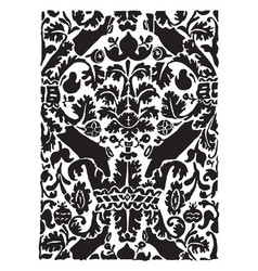 16th century weave design it consists of a leaf vector image vector image