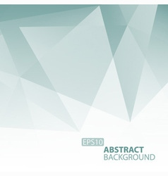 Abstract Grey Blue Geometric Background vector image