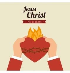 jesus christ design vector image vector image