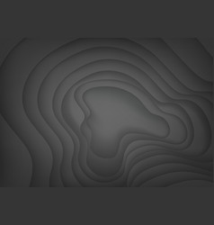 abstract dark grey curve shadow design modern vector image