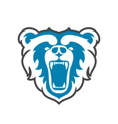 Bear Logo for sport club or team Animal mascot vector