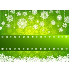 Beige christmas background with christmas EPS 8 vector image