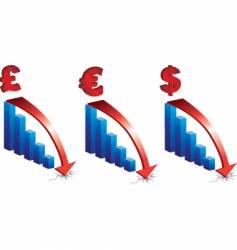 cash drop vector image