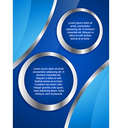 Creative business brochure design vector