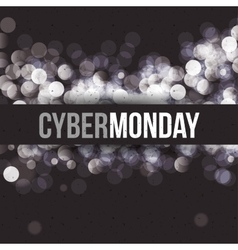 Cyber Monday and ecommerce design vector