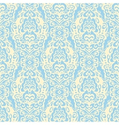 Damask seamless pattern lace vector image