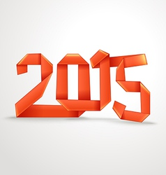 Happy New 2015 year vector