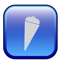 ice cream - icon vector image
