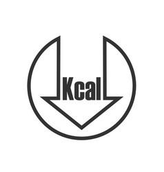 Kcal sign vector