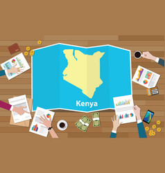 Kenya africa kenya economy country growth nation vector