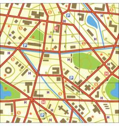 Map tile vector