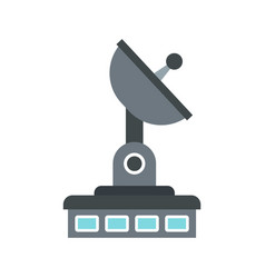 observatory icon flat style vector image