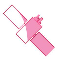 Satellite space antenna vector