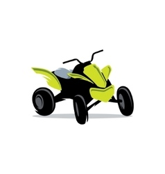 Sport ATV Cartoon vector