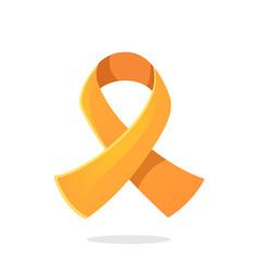 symbol leukemia or multiple sclerosis awareness vector image