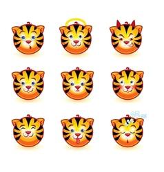 Tigers vector