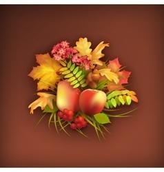 Autumn Harvest Background vector image