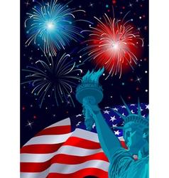 Freedom Celebration vector image